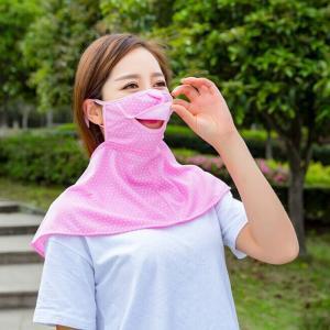 フェイスカバー ネックウォーマー ネックガード UVカット UVカバー 日焼け防止グッズ 日よけ耳かけ ネックカバー 熱中症対策 紫外線対策 レディース takishohin