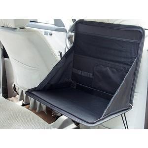 後部座席用車載折りたたみテーブル 車内でノートPCを使うときや食事などに役立つ車載テーブル【ネコポス不可】|takishohin