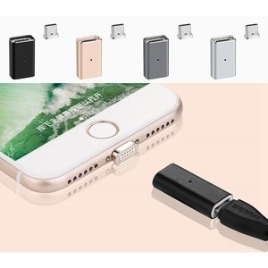 ■普通のMicro USBケーブルをマグネット吸着Type-Cケーブルへ変更アダプター  ■斬新なマ...