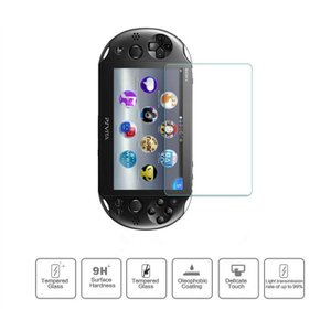 Sony PlayStation Vita 2000用強化ガラスフィルム/シール/液晶画面保護シート/指紋防止/表面硬度9H/反射防止 takishohin