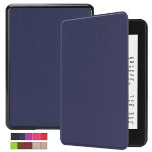 2018モデル Kindle Paperwhite4 7.0インチ用手帳型レザーケース 電子書 自動...
