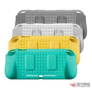 Nintendo Switch Lite用保護TPUケース ニンテンドー スイッチライト用ソフトカバー 握りやすいグリップ設計カバー 衝撃吸収ハードケース カバー takishohin