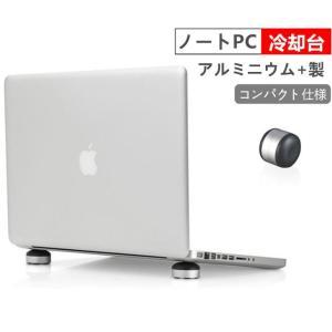 ノートPCタブレットスタンド ノートパソコンパッド アルミニウム製 ノートPCスタンド/ホルダー 軽量 コンパクト 傾斜角度 冷却放熱対策 滑り止め付き 2枚入り|takishohin