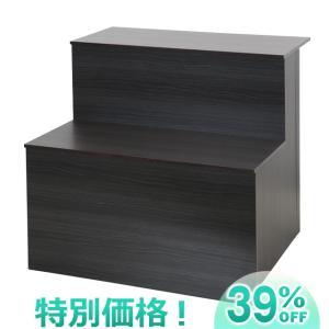 コンパクト盆棚(精霊棚)・お盆用木製祭壇 布なし20号2段 6834 お盆用品