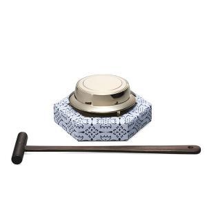 鉦吾(しょうご)セット 小型 2.8寸 (鉦鼓・伏鉦・叩鉦・鉦)|takita