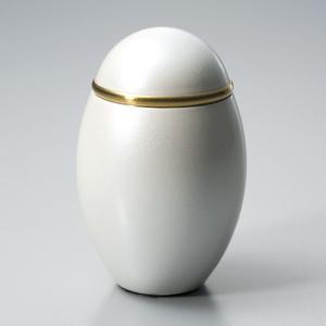 ミニ骨壷 ココス パールホワイト (手元供養 分骨つぼ) takita