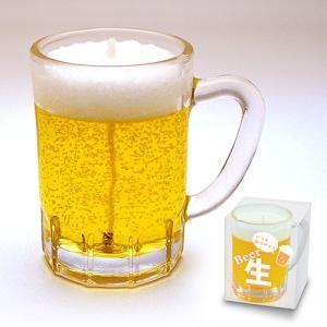 生ビールミニジョッキのローソク|takita