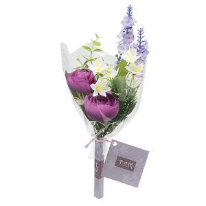 【仏壇用の仏花・造花】千の花(パープル) S-16|takita