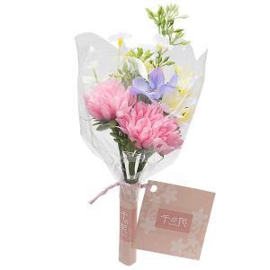 【仏壇用のミニ仏花・造花】千の花 小 (ピンク) S-11|takita