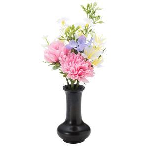 【仏壇用のミニ仏花・造花】千の花 小 (ピンク) S-11花立2.5寸付|takita