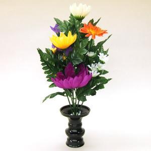 【仏壇用の仏花・造花】仏花 小 花立3寸付|takita