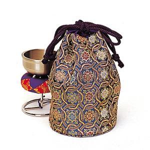 スタンド型印金(銀鈴)用金襴袋(携帯用リン りん)(寺院用仏具)|takita