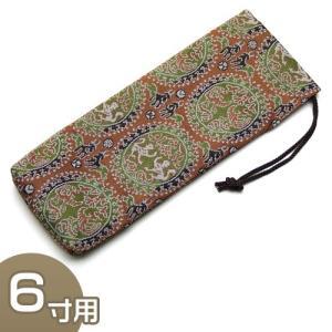 寸法:長さ23cm×巾8.3cm  音木(戒尺)の携帯や保管に便利な音木袋です。