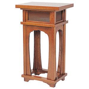 香台(花台) 栓製 1.5尺(立焼香机)(寺院用仏具)|takita