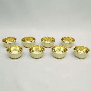 八器 蓋なし(八個一組) 大型(京都製密教法具 寺院用仏具)(護摩器)|takita