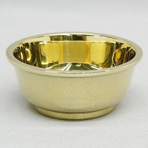 房花茶碗(ぼけぢゃわん) 中型(京都製密教法具 寺院用仏具)(護摩器)|takita