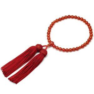 女性用数珠 メノー 正絹頭付房|takita