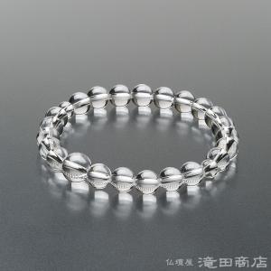 腕輪念珠 数珠 ブレスレット 本水晶 8mm (特選)|takita