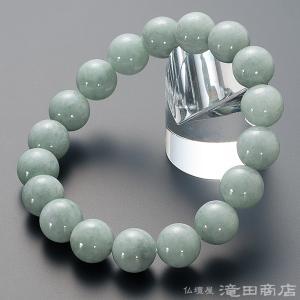 腕輪念珠 数珠 ブレスレット ビルマ翡翠 12mm玉 ストレート|takita