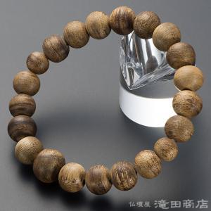 腕輪念珠 数珠 ブレスレット 沈香(じんこう) 10mm玉(尺六玉) takita
