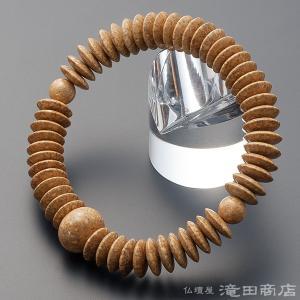 腕輪念珠 数珠 ブレスレット 天竺菩提樹 平玉 54玉 takita