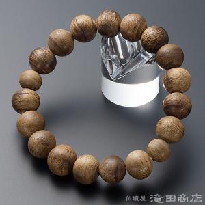 腕輪念珠 数珠 ブレスレット 極上 沈香(じんこう)  14mm玉(四分玉) takita