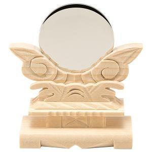 神鏡(台付) 金属製「本鏡」 1.5寸|takita