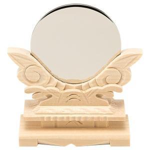 神鏡(台付) 金属製「本鏡」 2寸|takita
