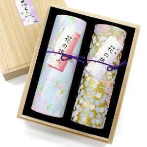 進物用線香(贈答用・ギフト線香) 花くらべ2種セット「桜・紅梅」(進物線香 ギフト用線香 贈答用お線香)|takita