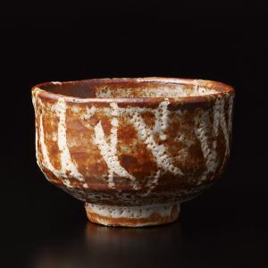 北大路魯山人『 志野茶碗 』共箱 茶道具 煎茶 抹茶茶碗  図録掲載作品 Kitaoji Rosanjin takiya-art