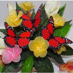 生花挿し棒つき蝶々 takouya