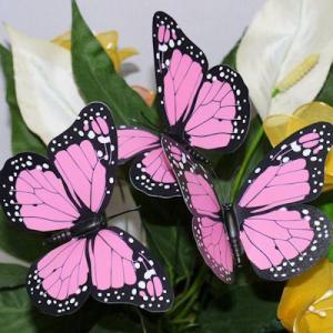 生花挿し棒つき蝶々|takouya