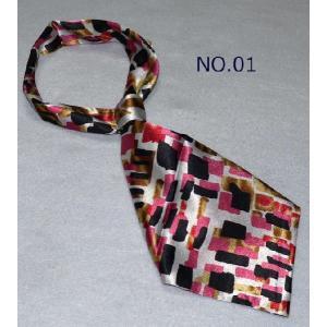 ☆最短で翌日お届け☆ 便利なリボン型スカーフ★美品激安!厳選したシルク調スカーフ20種★|takouya|02