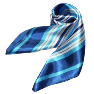 かわいいシルク調スカーフ 中判 60cm正方形スカーフリボン 事務服 企業制服スカーフ  手首に、デニムに、バッグに、無限に使える人気柄スカーフ激安|takouya