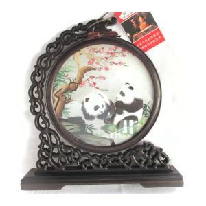 両面刺繍 高級刺繍 工芸品 置物 ギフト 中国のお土産|takouya
