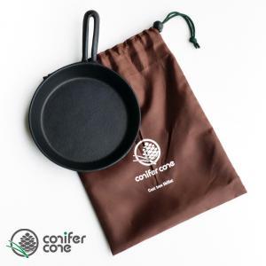 conifercone コニファーコーン オリジナル スキレット 17cm 専用袋付き|takt
