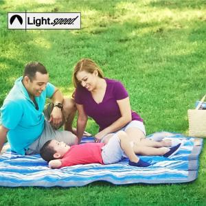 Light speed レジャーシート アウトドア ブランケット カルフォルニアスタイル 152×178cm|takt