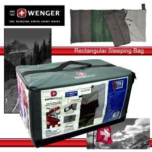 限定入荷 ウェンガー  2ウェイスリーピングバッグ 寝袋 1℃〜15℃対応|takt