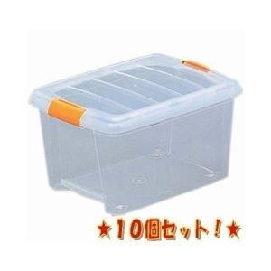 【10個セット】高い所 収納ボックス クリアボ...の関連商品8