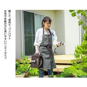 ホースリール 10m フルカバーホースリール  ハンディ アイリスオーヤマ takuhaibin 02
