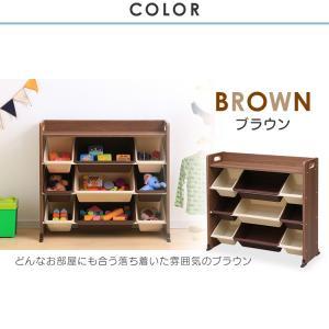 おもちゃ 収納 おもちゃ箱 トイハウスラック おもちゃ収納 収納ボックス 天板付キッズトイハウスラック TKTHR-39 アイリスオーヤマ|takuhaibin|11