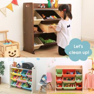 おもちゃ 収納 おもちゃ箱 トイハウスラック おもちゃ収納 収納ボックス 天板付キッズトイハウスラック TKTHR-39 アイリスオーヤマ|takuhaibin|04