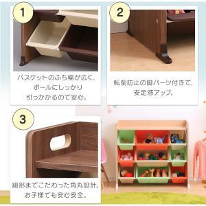 おもちゃ 収納 おもちゃ箱 トイハウスラック おもちゃ収納 収納ボックス 天板付キッズトイハウスラック TKTHR-39 アイリスオーヤマ|takuhaibin|09