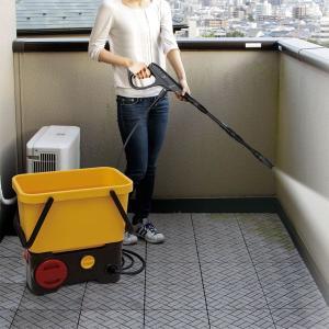 タンク式高圧洗浄機 充電タイプ SDT-L01 イエロー/ブラック アイリスオーヤマ (あすつく)|takuhaibin|02