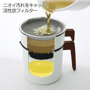 (在庫処分特価) オイルポット 油こし器 別売カートリッジ H-OPCR 白 アイリスオーヤマ|takuhaibin|02