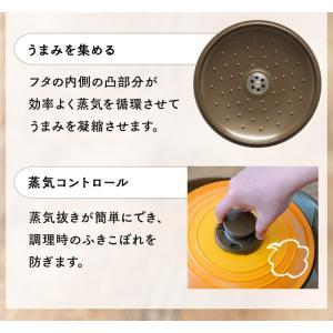 両手鍋 20cm 鍋 IH おしゃれ 無加水鍋 人気 オススメ MKS-P20  アイリスオーヤマ(セール) takuhaibin 07