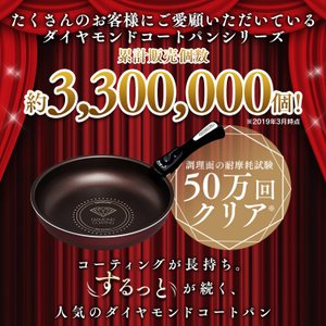 フライパン セット 焦げ付きにくい 収納 6点セット ダイヤモンドコート ガス火専用 H-GS-SE6 アイリス ダイヤモンドコートパン 人気|takuhaibin|04