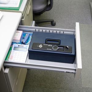 金庫 おしゃれ 小型 手提げ金庫 オフィス用品 家庭用 SBX-A5SH|takuhaibin|03