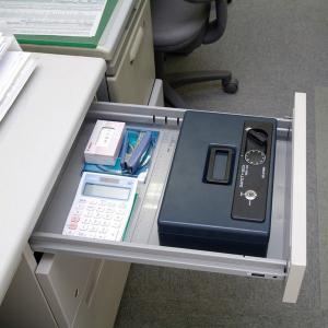 金庫 おしゃれ 小型 手提げ金庫 オフィス用品 家庭用 SBX-A5SH|takuhaibin|05