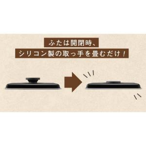 ホットプレート 大型 おしゃれ アイリスオーヤマ 両面ホットプレート DPO-133  折りたたみ コンパクト たこ焼き 焼肉 1人暮らし|takuhaibin|14